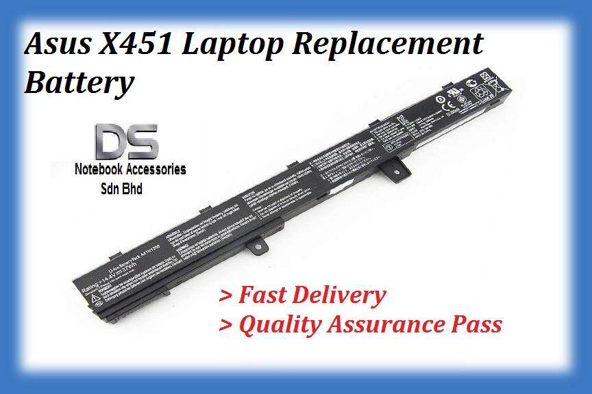 Asus X451M Series Internal Battery / Asus A41N1308 Battery Malaysia