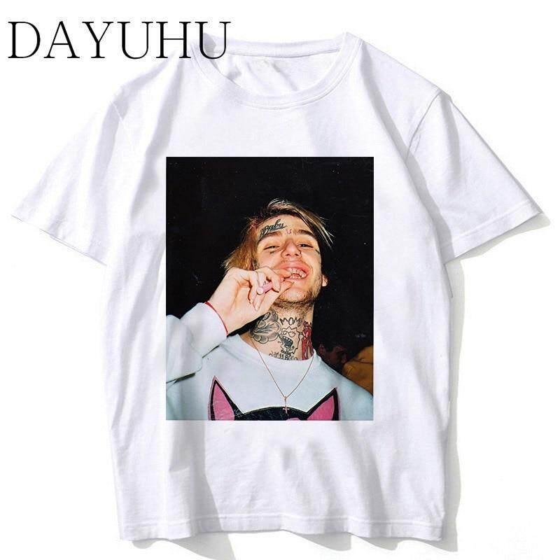 17984b15f44 2018 New Rapper Lil Peep T Shirt Rap Hiphop LilPeep Men Cool T-shirt Graphic