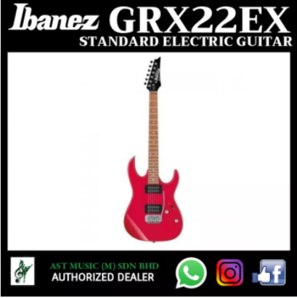 Ibanez GRX22EX Standard Electric Guitar - Red Malaysia