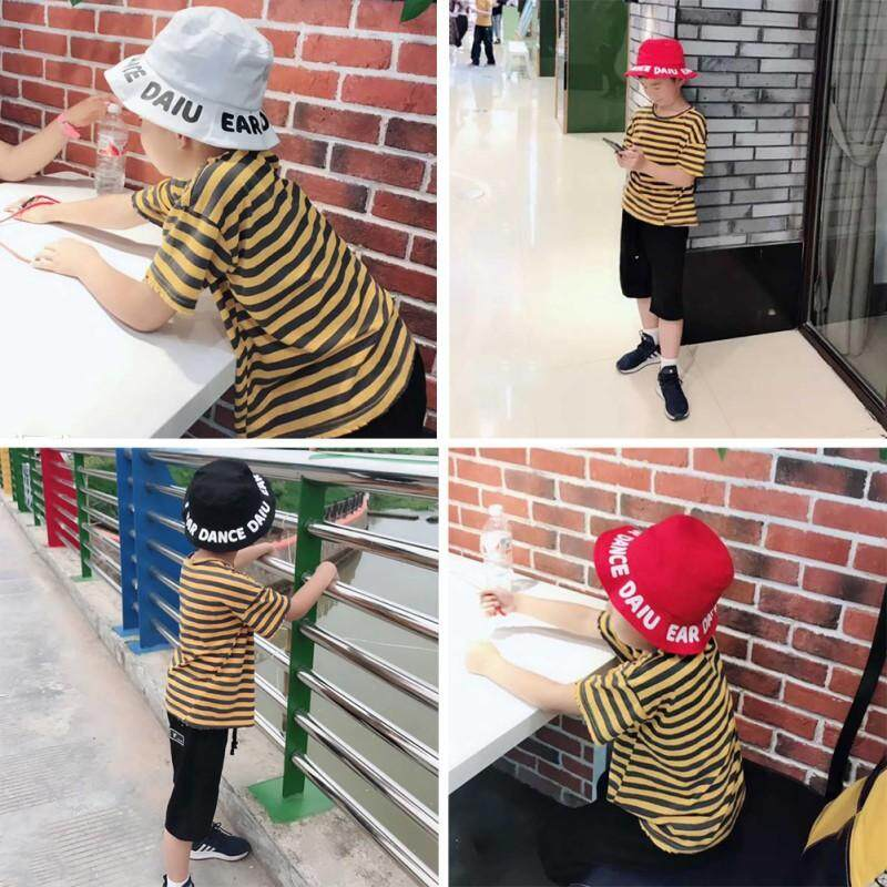 Autumn Baby Boys Girls Toddler Letter Printed Bucket Hats BW