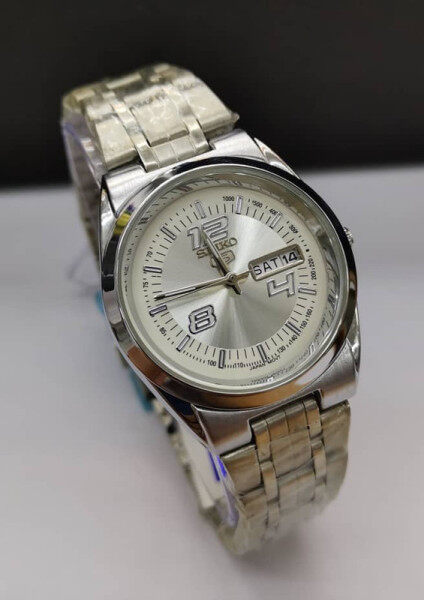 SEIKO_5 Analogue Stainless Steel Watch For men Unisex Limited Edition Malaysia