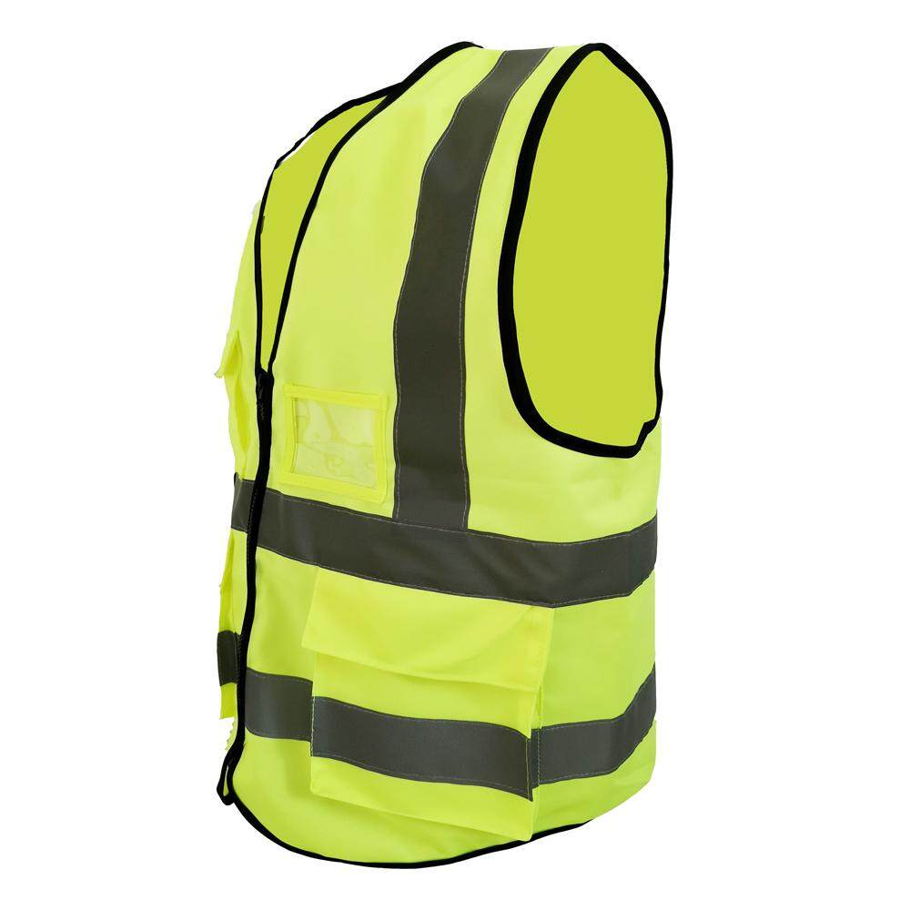 Unisex Reflective Vest Working Clothes Night Safety Clothing Outdoor High Visibility Vest