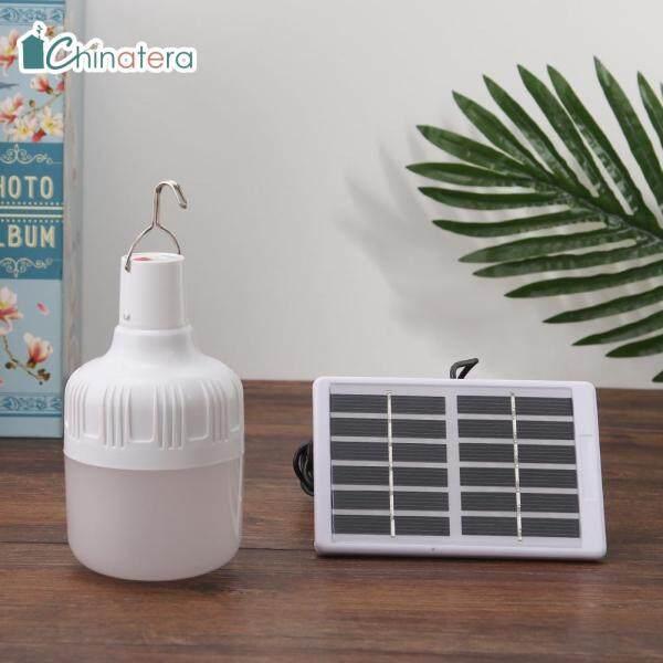 [Chinatera] YH-50 Bóng Đèn LED Năng Lượng Mặt Trời Cầm Tay Lều Vườn Ngoài Trời Có Thể Sạc Lại, Cắm Trại EmergencyLight Đèn Treo