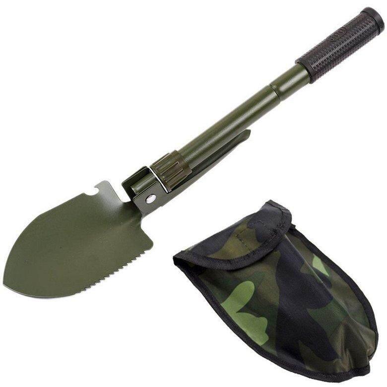 HORI Multi-Function Life-Saving Shovel Fishing Folding Shovel Emergency Shovel