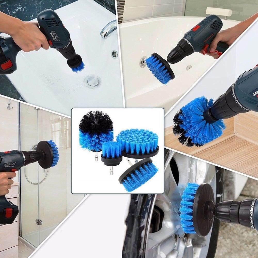 5 cái/bộ Điện Chà Bàn Chải để Làm Vệ Sinh Thảm Ngói Bồn Rửa Dụng Cụ Cơ Khí Bàn Chải