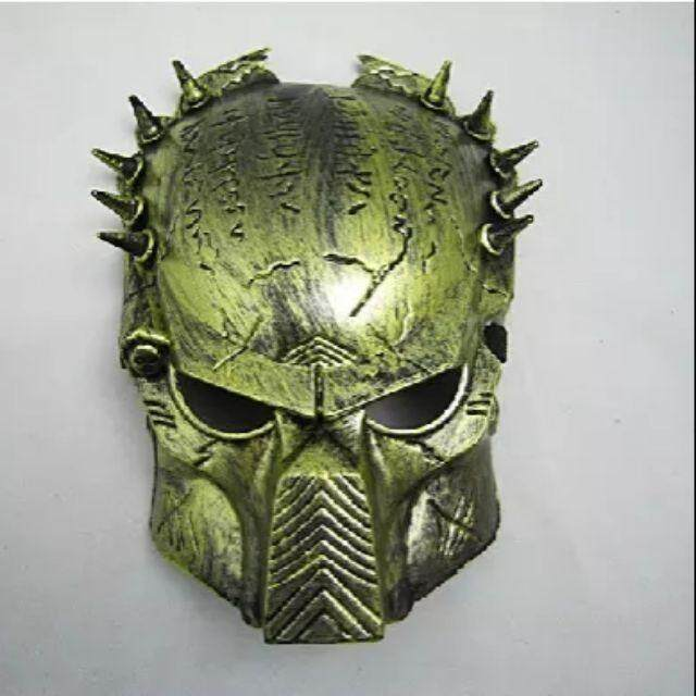 Toy Mask Topeng Predator Green