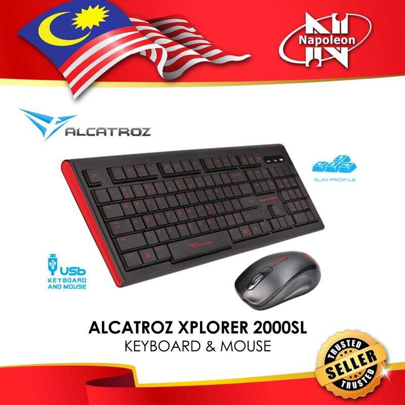 ALCATROZ XPLORER 2000SL KEYBOARD & MOUSE Malaysia