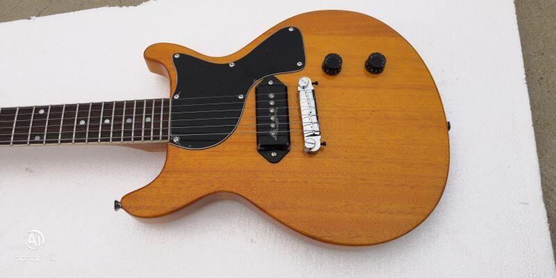flat single P90 pickups junior level electric guitar Malaysia