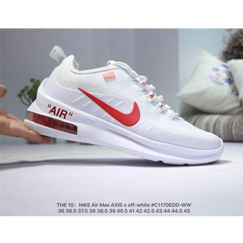 Registro Mata Movimiento  Nike Air Max Axis Off White Men's running shoes and Women's sporting  sneakers Casual summer outdoor shoes size 36-45 | Lazada