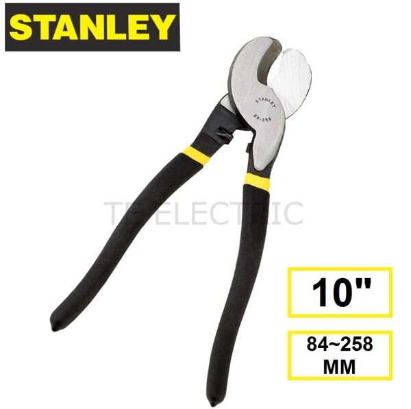 """(ORIGINAL) STANLEY S TYPE HEAVY DUTY CABLE WIRE CUTTER 9-1/2"""" (84-258MM)"""