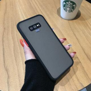 Ốp Cho Samsung Galaxy Note 9 Ốp Lưng Cứng Trong Suốt Mờ Cảm Giác Da Siêu Mỏng, Ốp Điện Thoại Bọc Toàn Bộ Cạnh Silicon Mềm thumbnail