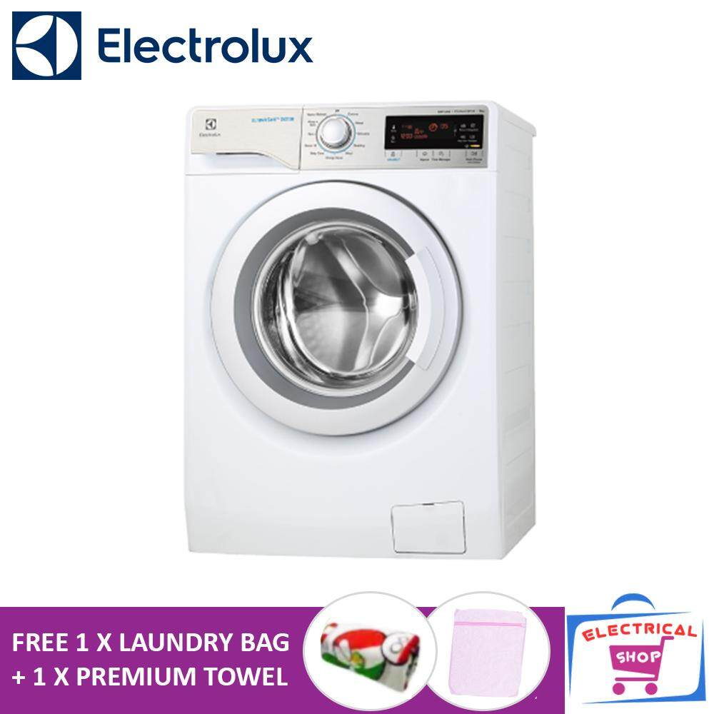 Electrolux Washing Machine EWF12933 9KG Inverter Front Load (Free Laundry Bag + Premium Towel)
