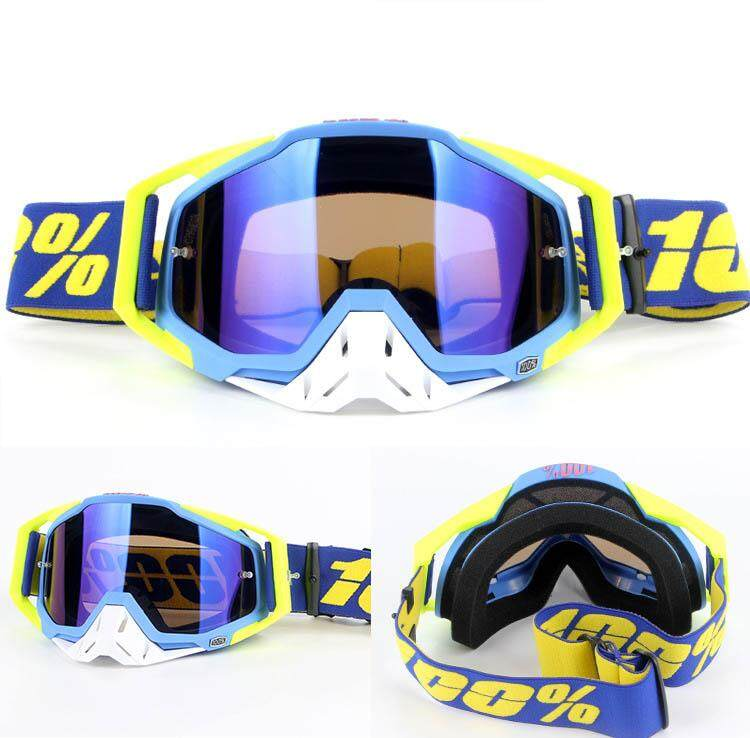 Outdoor 100% Windshield Motorcycle Goggles Riding Goggles Dust-proof Sunscreen Sand Prevention