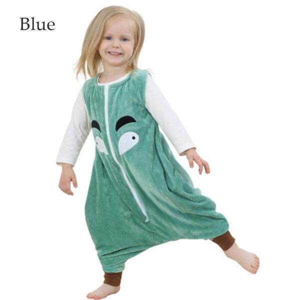 Spring And Summer Thin Sleeveless Children Cartoon Split Leg Sleeping Bag Flannel Baby Kicking