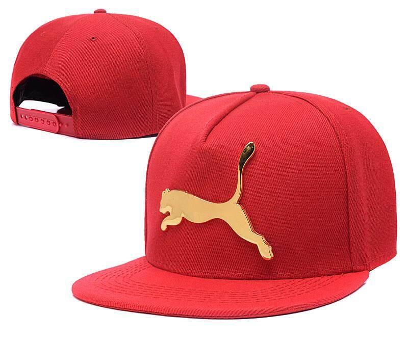 PUM embroidery adjustable ladies baseball cap men's street baseball cap wild casual hat