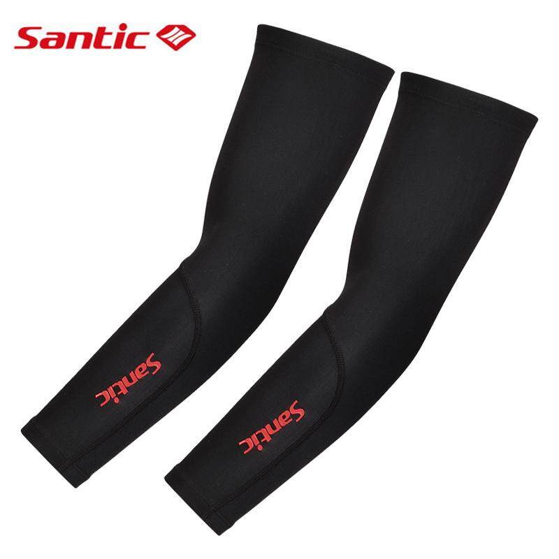 SANTIC Cycling Arm Protection Cover Warmers Anti-UV Outdoor Oversleeve A Pair