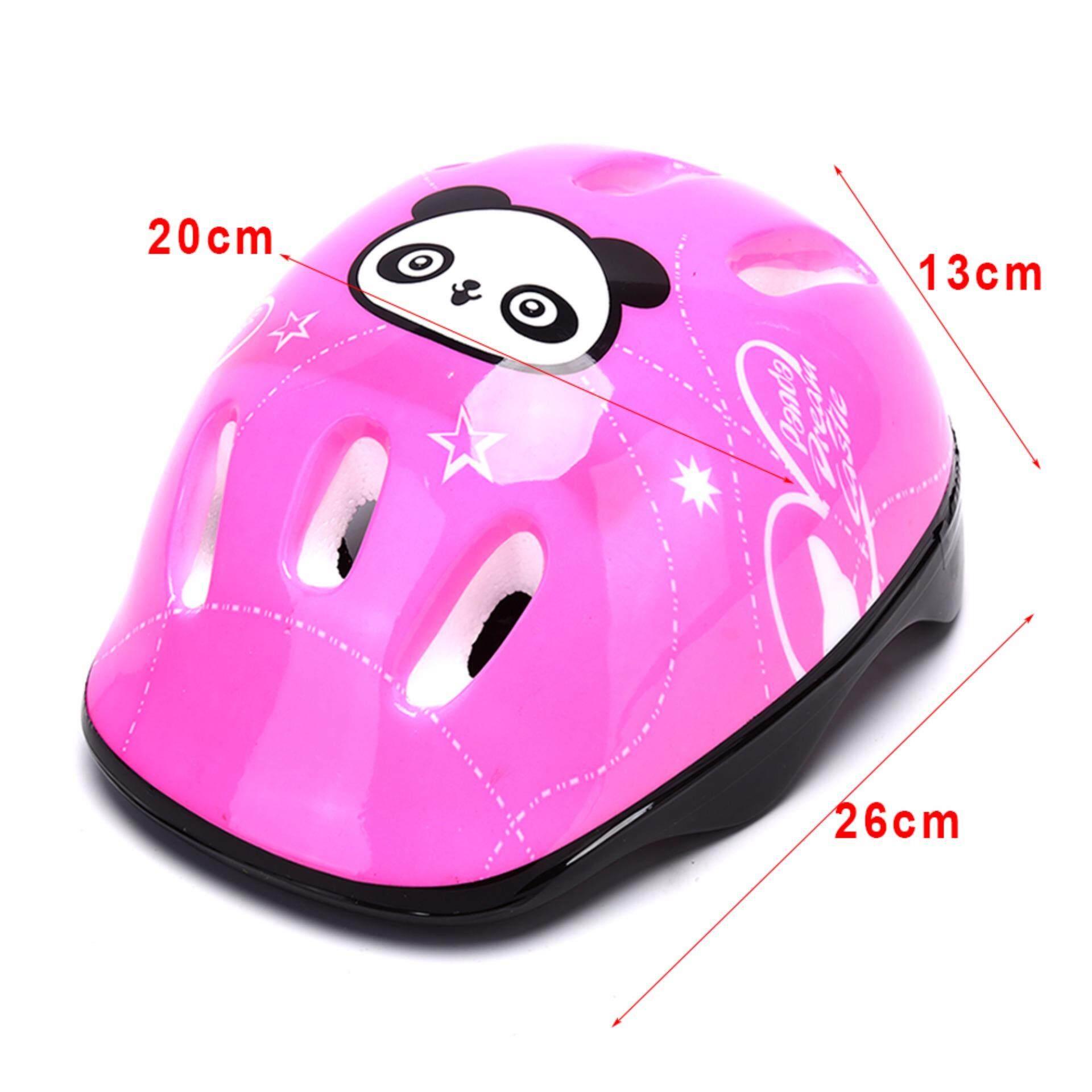 Rồng 7 cái/bộ Trẻ Em Trượt Băng Mũ Bảo Hiểm Bảo Vệ Khuỷu Tay Đầu Gối Đệm Lót Cổ Tay Trẻ Em - 6