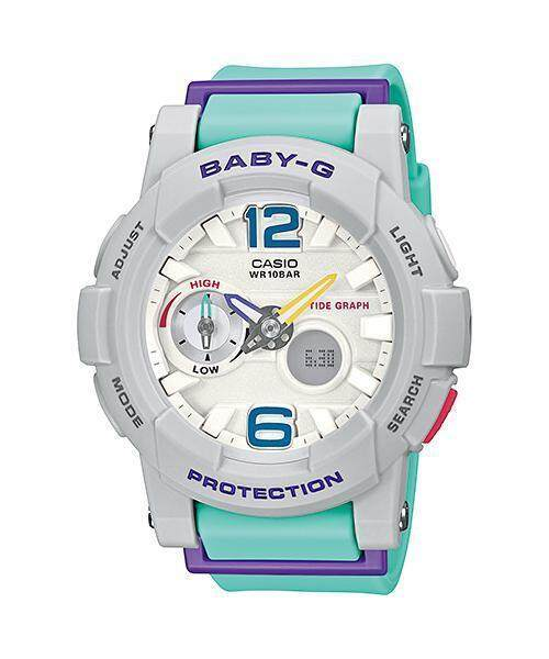 (Ready Stock) Original Casio Baby G_BGA-185-4A Women Sport Digital Watch Duo W/Time 100M Water Resistant Shockproof and Waterproof World Time LED Light Girl Wist Sports Watches with 2 Year Warranty BGA185/BGA-185 Pink Malaysia