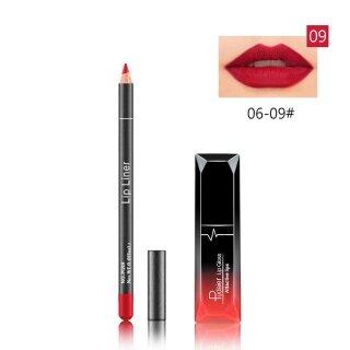 Lipstik Matte Cair Tahan Lama, Kosmetik Lip Liner Lip Gloss Cair Matte Tahan Air 25Ml thumbnail