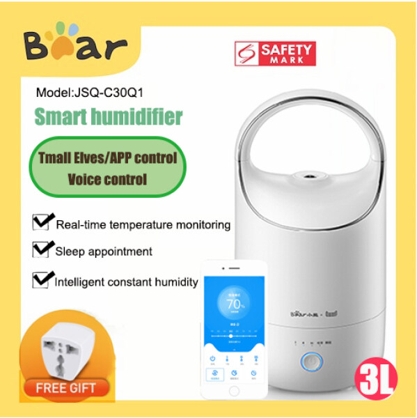 Bear JSQ-C30Q1 Smart Tmall Genie APP Control Humidifier Silent air purification for pregnant and babies in Room Singapore