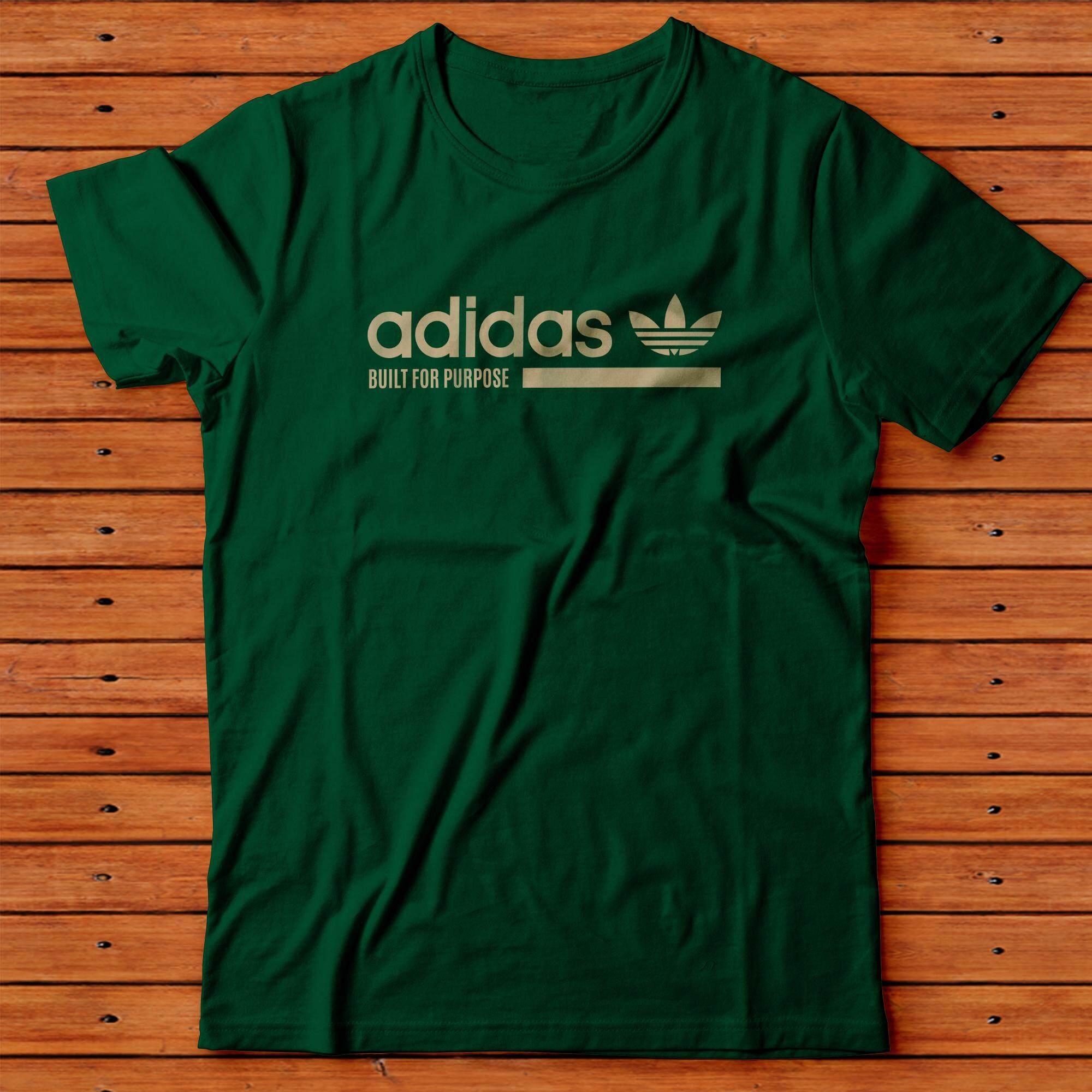 Adidas_ T shirt Cotton Unisex Vinyl Printed