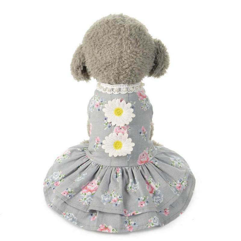 Miễn Phí Vận Chuyển Chó Mèo Nơ Tutu Đầm Váy Ngủ Cho Thú Cưng Chó Con Bộ Trang Phục Công Chúa May Mặc Quần Áo