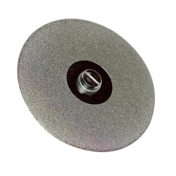Dolity 75mm Diamond Brazed Coated Saw Blade Grinding Cutting Wheel Disc and Mandrel