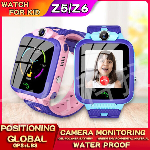 Childrens phone watch Z6 childrens smart watch student kid smart wahtch phone watch can be positioned Malaysia