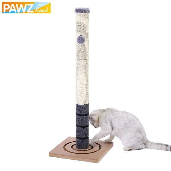 H26-78CM Bưu Cào Sisal Cho Cây Mèo Thú Cưng Giao Hàng Nhanh Trong Nước Đồ Chơi Tháp Nhảy Cho Mèo Con Kèm Bóng Bảo Vệ Đồ Nội Thất