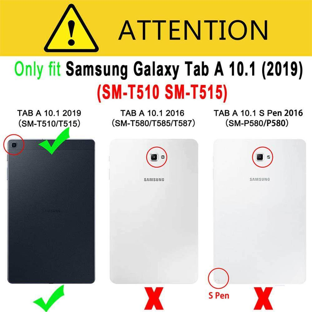 Case Cover for Samsung Galaxy Tab A 10.1 T510//T515 Full Cover Screen Protector