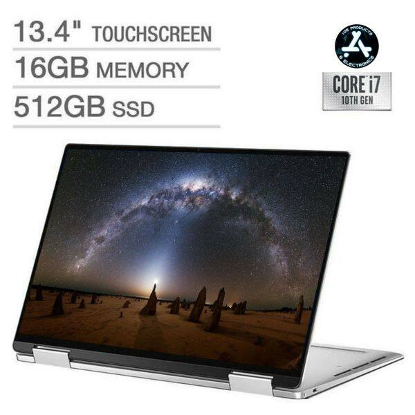 NEW Laptop Dell XPS 13 7390 UHD Touchscreen 2-in-1 i7 10th 16GB RAM 512GB SSD Malaysia