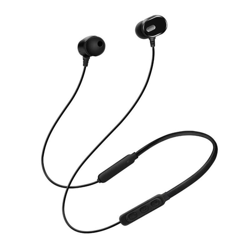 niceEshop DM-22 Magnetic Bluetooth Earphone Neck-mounted Sport Headphone with Mic Singapore