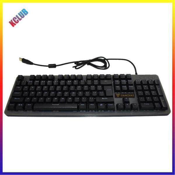 Mechanical Feel Gaming Keyboard IP68 Waterproof USB Wired 104 Keys Keyboard with Colorful Backlight Singapore