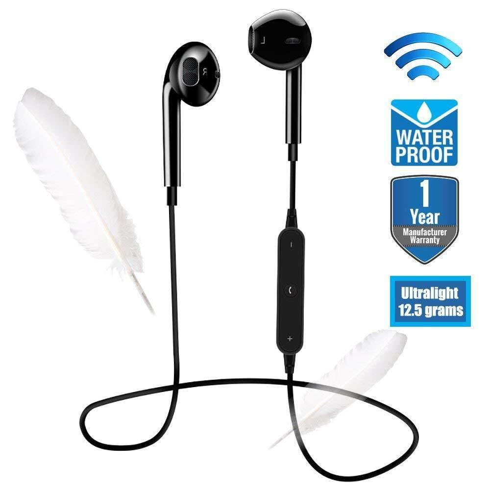 S6 Wireless 2 Colors Sport Headphones In-ear Waterproof Earphone Bluetooth V4.1 Wireless
