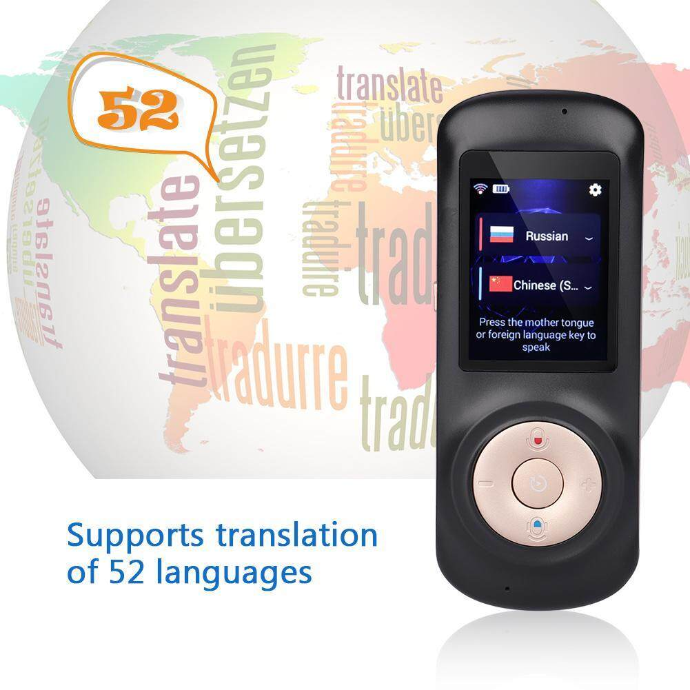 Dewin Smart Wireless Portable Translator Real Time Voice Translation Support 52 Languages By Dewin.