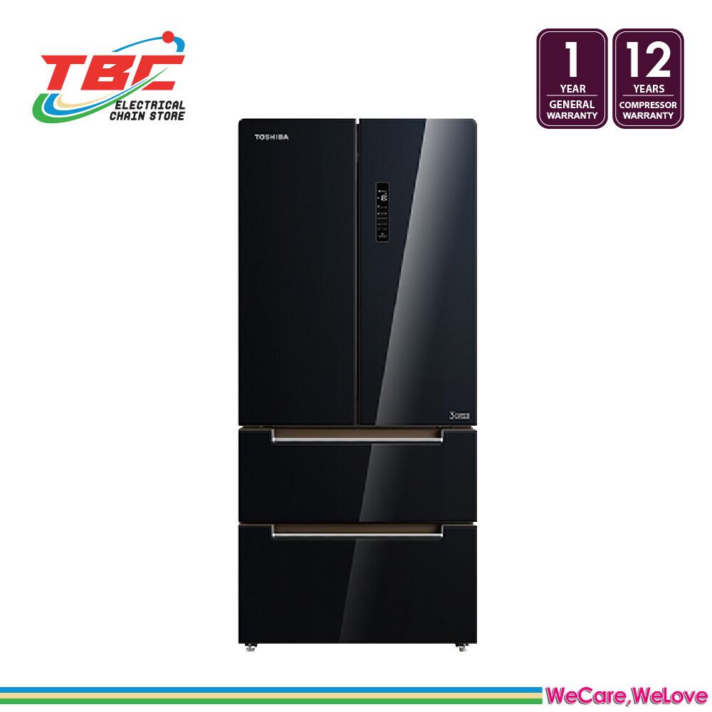 TOSHIBA GR-RF532WE-PGY (22) 582L FRENCH DOOR DUAL INVERTER REFRIGERATOR/FRIDGE