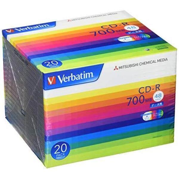 Verbatim 1 times for recording CD-R 700MB White printable 48x SR80SP20V1