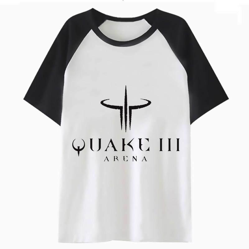 49555df30 quake t shirt tshirt women top funny streetwear clothing kawaii graphic t- shirt harajuku korean