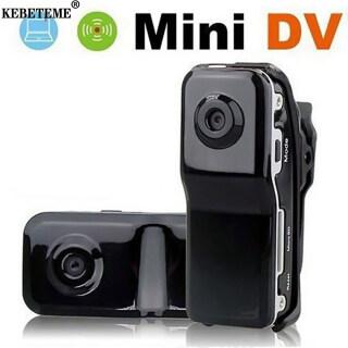 KEBETEME Máy Ảnh Mini, Máy Ảnh Bỏ Túi, DVR Di Động Cho Xe Đạp Đeo Được Camera Siêu Nhỏ Máy Quay Video Mini thumbnail