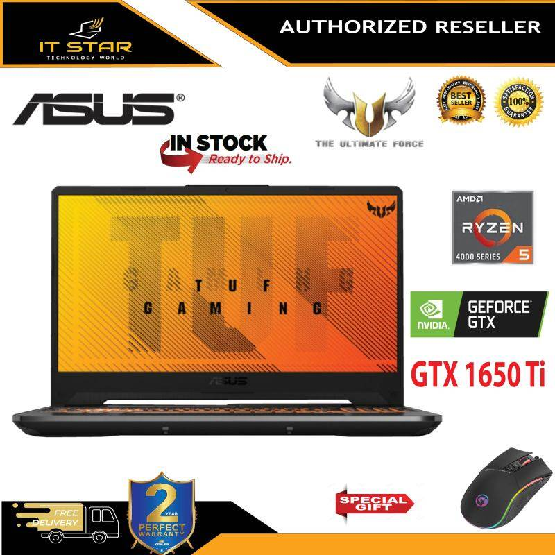 Asus TUF A15 FA506I-IHN240T – Ryzen™ 5-4600H   8GB   512GB SSD   GTX 1650Ti 4GB   15.6″ FHD IPS 144HZ Malaysia