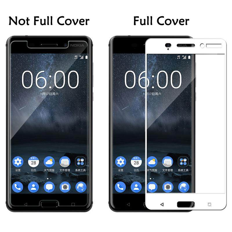 Cellphones & Telecommunications Phone Screen Protectors For Nokia 6 Glass For Nokia 8 7 6 2018 Screen Protector Tempered Glass Film Phone Protective Glas Full Cover 9h Explosion-proof