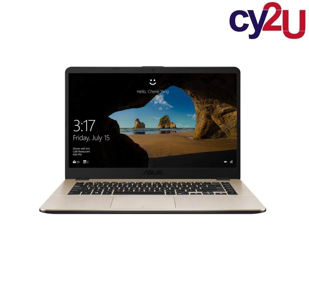 Asus Vivobook X505Z-ABR488T 15.6 Laptop - Gold (AMD R3-2200U, 4GB RAM, 1TB HDD, Radeon Vega 3, Win10) + Asus Backpack Malaysia