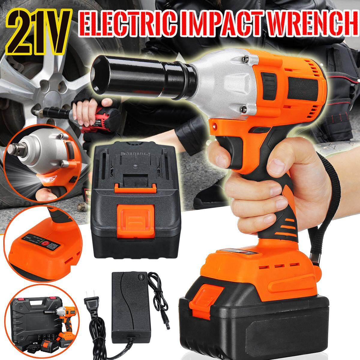 21V 16000mAh Brushless Impact Wrench Li-Ion Battery Electric Shelf Wrench