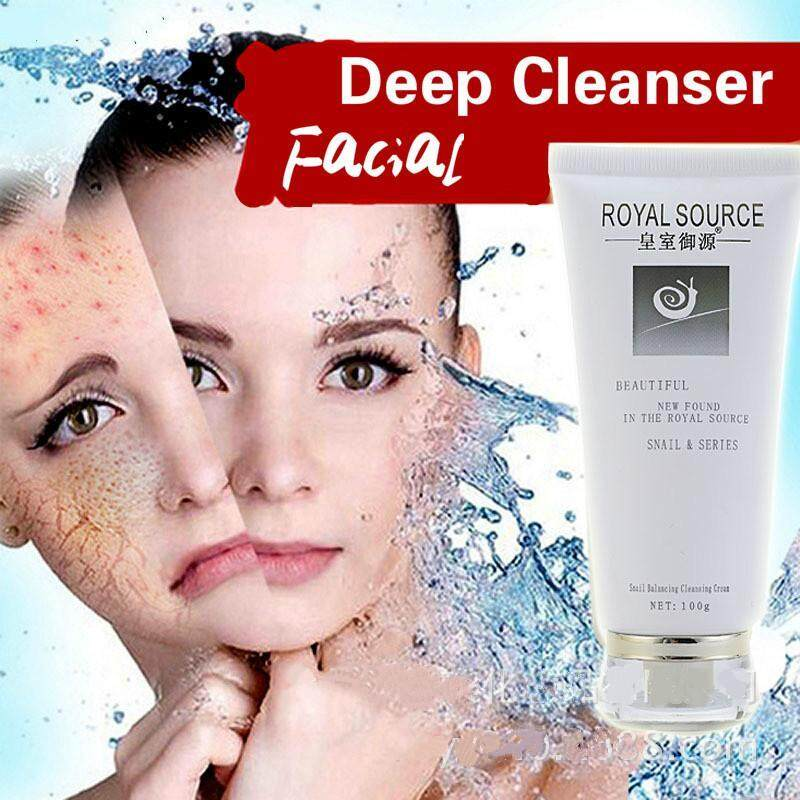 [ROYAL RESOURCE] Deep Cleansing Oil-balance Blackhead Removal Pore Shrinking Acne Treatment Snail Extract Nourish Essence 100g