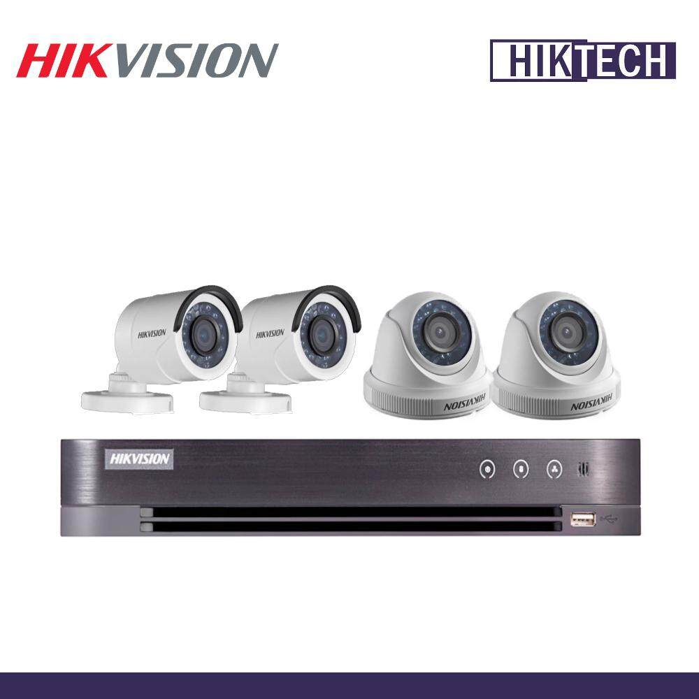 HIKVISION DS-7204HQHI-K1 4CH 2MP Camera Package