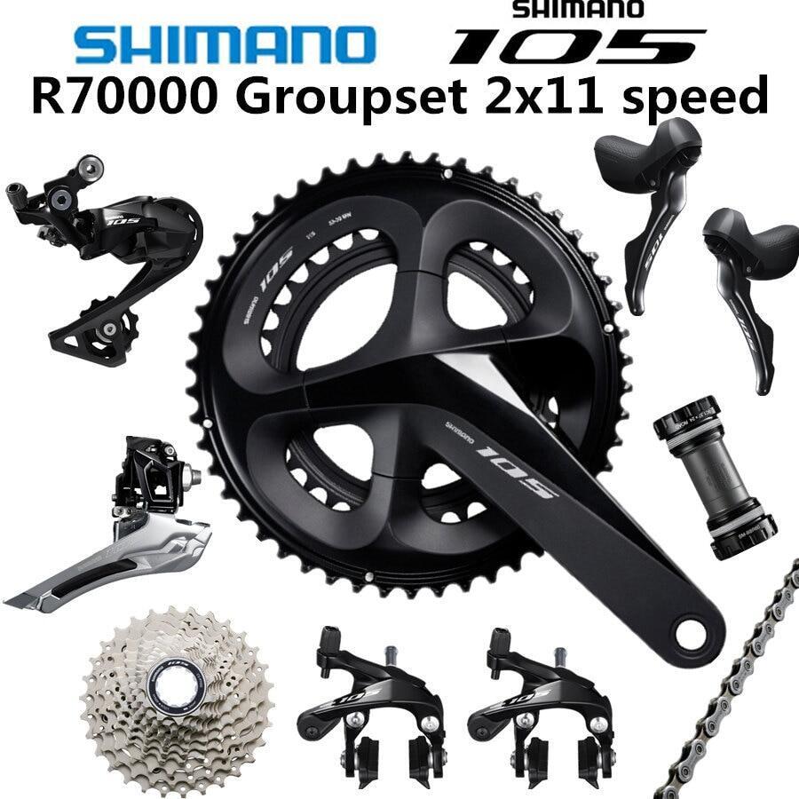Mua Shimano _ 5800 105 R7000 Groupset R7000 Derailleurs จักรยานถนน 50-52-36 53-39T 165 170 172.5 175 มม. 12-25 11-28 30T 32T34T