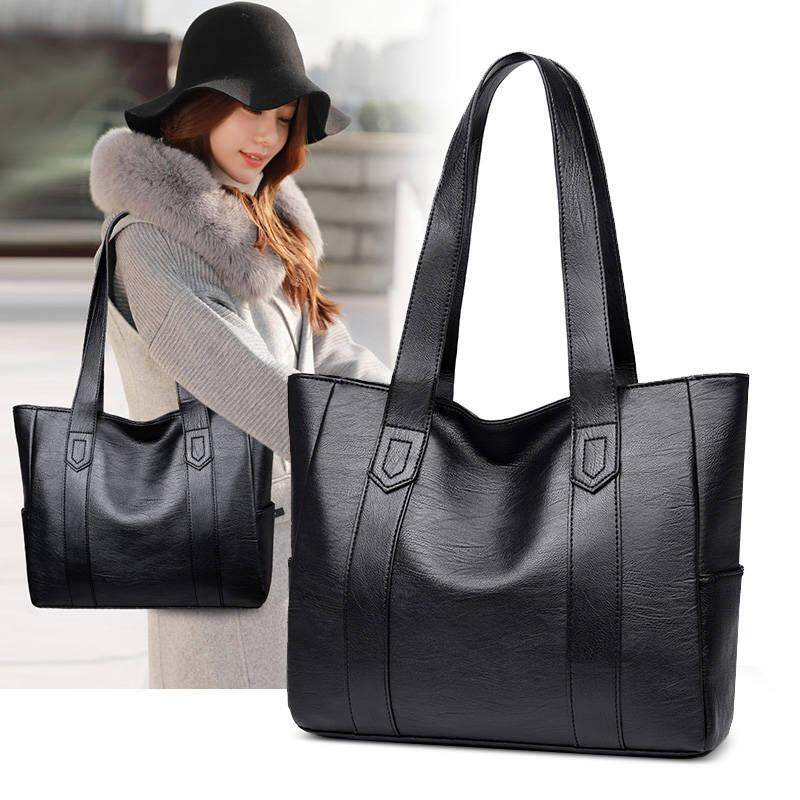 Tote Bag Women Leather Handbag Shoulder Ladies Satchel d5dec5d465