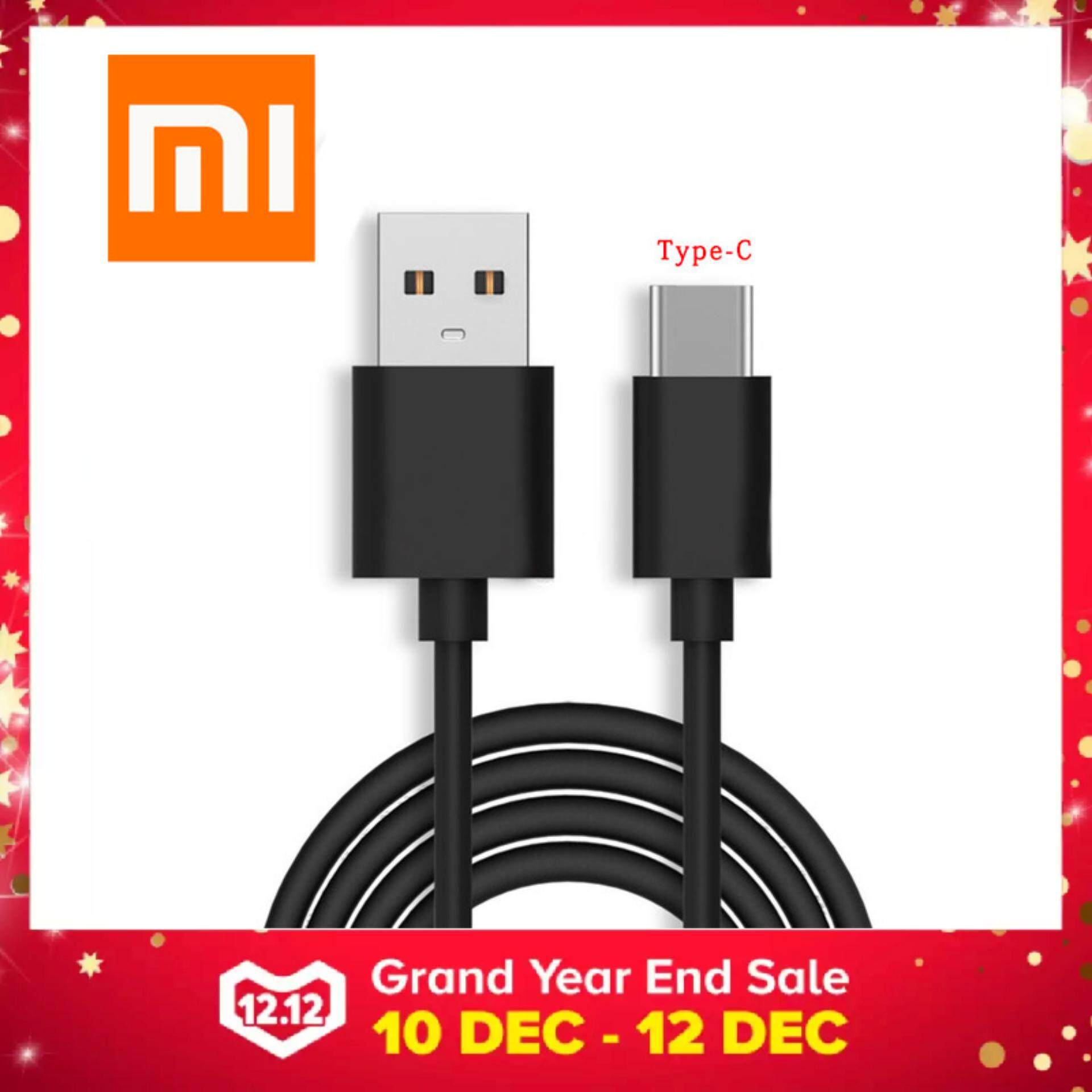 Xiaomi Cables For The Best Prices In Malaysia Original Kabel Data Micro Usb Redmi 2 3 4 Note 100 5v 5a 31 Type C Fast Charging Sync Cable 1m