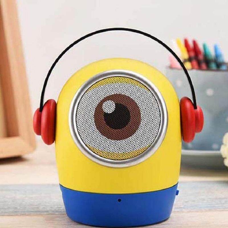Portable Wireless Bluetooth Speakers Mini Cute Handsfree loudspeaker box with Mic Support TF card Aux-