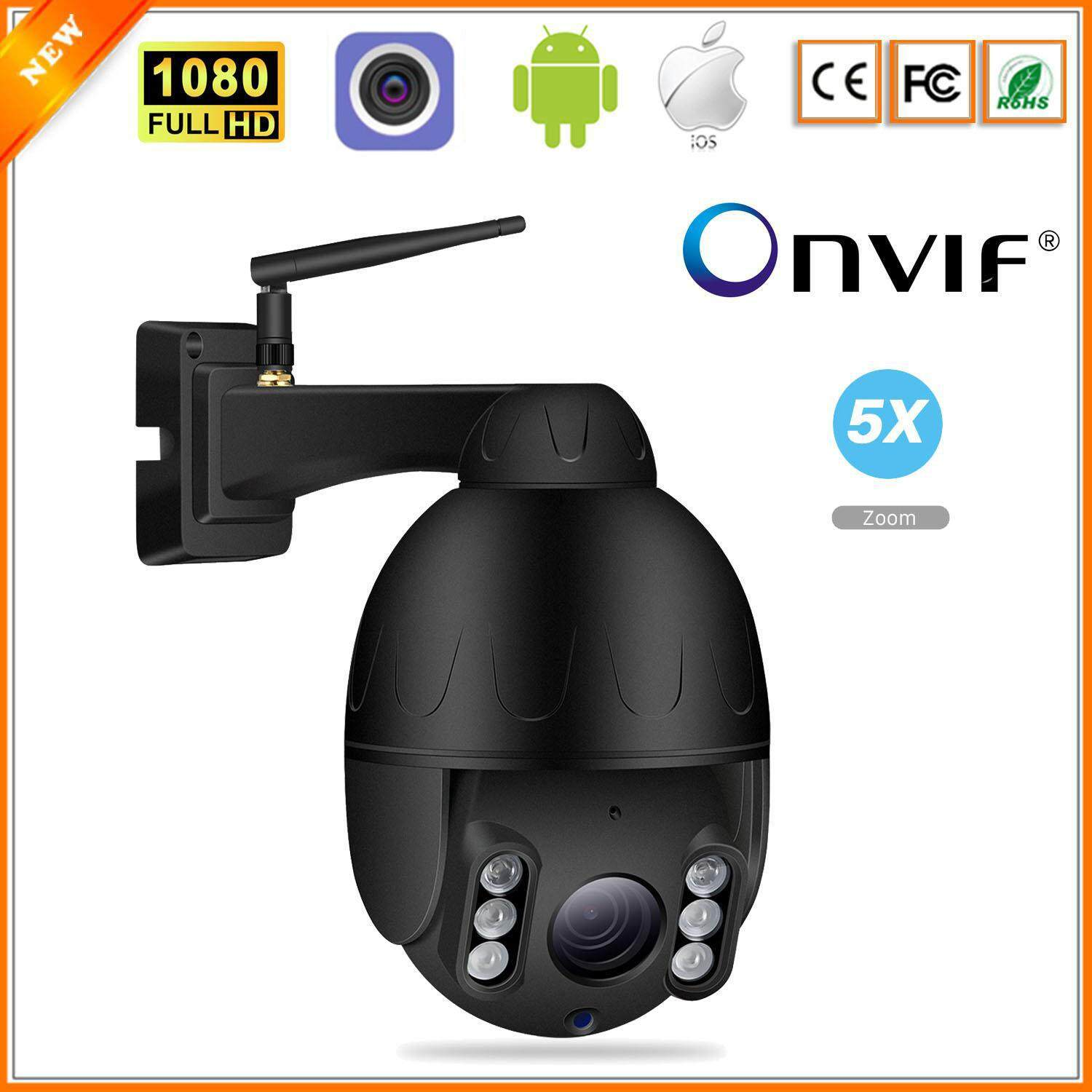 Besder 1080p Ptz Wifi Camera Outdoor 2mp 5x Optical Zoom 2.7-13.5mm Lens Speed Dome Ptz Ip Camera 1080p Cctv Security Wireless Camera Camhi App By Besder Official Store.